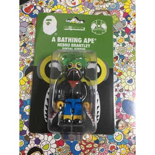 A BATHING APE - A BATHING APE  FLYBOY SHARK BE@RBRICK 新品
