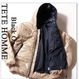 テットオム(TETE HOMME)の新品未使用 定価22000円テットオム 中綿パーカー(ダウンジャケット)