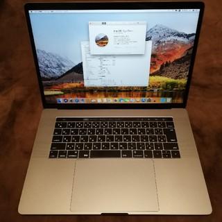 マック(Mac (Apple))の美品 MacBookPro15 2016 大容量512GB Office 付き(ノートPC)