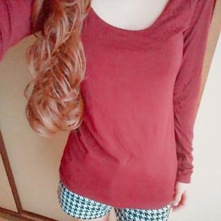 ナバーナ(NAVANA)のボルドーロンT(Tシャツ(長袖/七分))