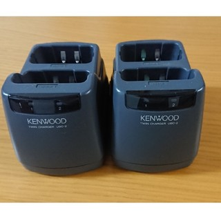 ケンウッド(KENWOOD)のKENWOOD twinチャージャー UBC-2 週末限定お値下げ中!(アマチュア無線)