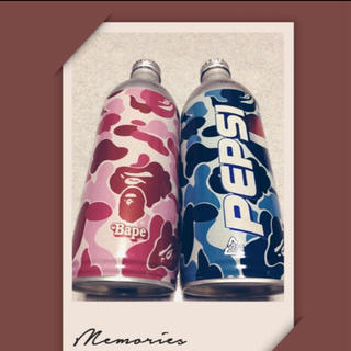A BATHING APE - ペプシ缶・2本セット