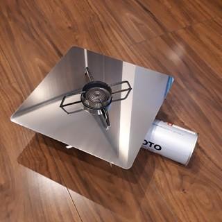 シンフジパートナー(新富士バーナー)のSOTO ST-310用 遮熱板□240 オリジナル(ストーブ/コンロ)