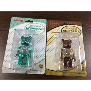 MEDICOM TOY - BEARBRICK B@BY Steampunk Turquoise 100%