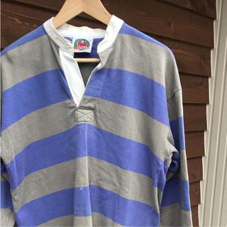 バーバリアン(Barbarian)のBARBARIAN  ラガーシャツ(ポロシャツ)