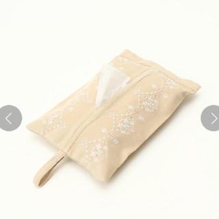 アフタヌーンティー(AfternoonTea)のアフタヌーンティー クリスタル刺繍ティッシュボックスカバー(ティッシュボックス)