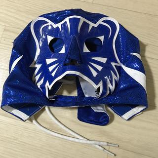 ブルーパンテル jr. サイン入りマスク Lucha Libre mask(スポーツ選手)