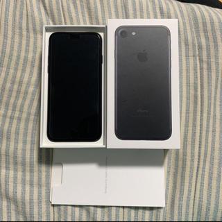 アイフォーン(iPhone)のiphone7 128 ブラック(スマートフォン本体)