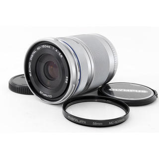 オリンパス(OLYMPUS)の☆PENシリーズ用望遠レンズ☆M.ZUIKO 40-150mm R シルバー(レンズ(ズーム))