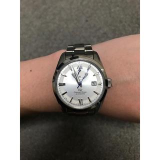オリエント(ORIENT)のORIENT STAR 自動巻腕時計 WZ0031AF ホワイト シルバー(腕時計(アナログ))