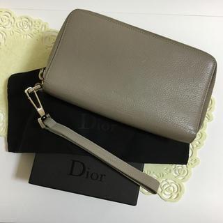 ディオールオム(DIOR HOMME)の☆ ディオールオム ダブルファスナー 長財布 ☆(長財布)