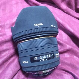 シグマ(SIGMA)のSIGMA 50mm F1.4 EX DG HSM (ニコン用)  (レンズ(単焦点))
