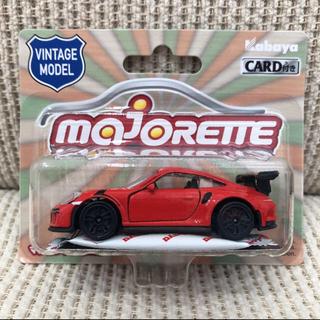 ポルシェ(Porsche)の majorette 1/64 ポルシェ 911 GT3 RS 赤 レッド (ミニカー)