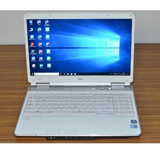エヌイーシー(NEC)のWin10+office NEC LL750/W 高速 i5/750GB/4GB(ノートPC)