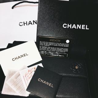 シャネル(CHANEL)の【美品】CHANEL カメリア 財布(財布)