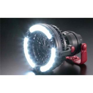 バカ売れキャプテンスタッグ キャンプ用品 扇風機付 ファン付LEDライト(ライト/ランタン)