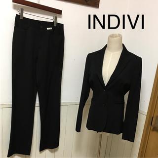 インディヴィ(INDIVI)の極美品 INDIVI パンツスーツ 23区 theory(スーツ)