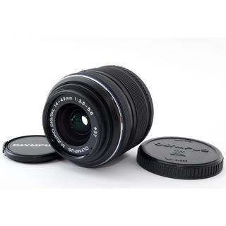 オリンパス(OLYMPUS)の★オリンパスミラーレス用標準レンズ★14-42mm II R ブラック(レンズ(ズーム))