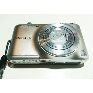 ニコン(Nikon)の[本体のみ]Nikon COOLPIX S6400 クリスタルシルバー(コンパクトデジタルカメラ)