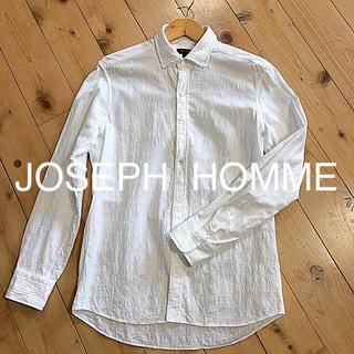 ジョゼフ(JOSEPH)のJOSEPH HOMME  ホワイト シャツ(シャツ)