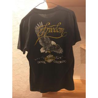 ハーレーダビッドソン(Harley Davidson)の【美品】ハーレーダビッドソン×バドワイザー Tシャツ(Tシャツ/カットソー(半袖/袖なし))
