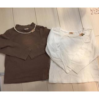 スーリー(Souris)のスーリー♡長袖ロンT  2枚セット  100(Tシャツ/カットソー)