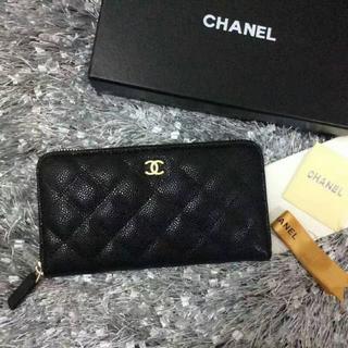 シャネル(CHANEL)のシャネル長財布 レディース クラッチバッグ 本革 新入荷財布 折財布(財布)