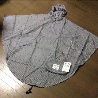 新品 レインコート   ロング丈 サイクル ポンチョ M~L  R-05(レインコート)