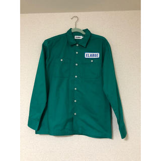 エクストララージ(XLARGE)のXLARGE ワークシャツ グリーン(シャツ)