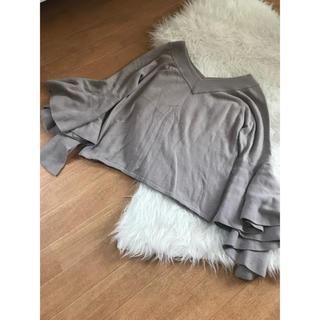 ドロシーズ(DRWCYS)の袖フレア ニット(ニット/セーター)