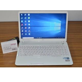 エヌイーシー(NEC)のWin10+office 爆速新品SSD120 NEC LS150/E 4GB(ノートPC)