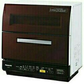パナソニック(Panasonic)のPanasonic パナソニック 食器洗い乾燥機 NP-TR8 ブラウン(食器洗い機/乾燥機)