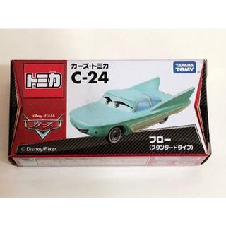 タカラトミー(Takara Tomy)のトミカ カーズ C-24 フロー スタンダードタイプ(ミニカー)