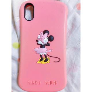 ディズニー(Disney)のiPhone X ケース ミニー ディズニー(iPhoneケース)