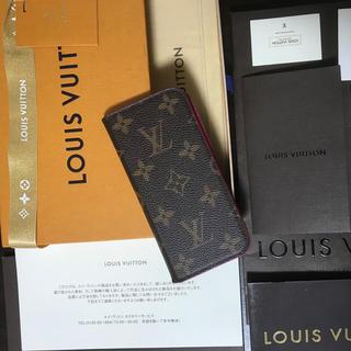 ルイヴィトン(LOUIS VUITTON)の大人気!ルイヴィトン モノグラム  フェリオiPhoneケース(iPhoneケース)