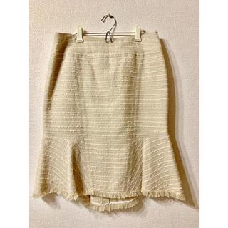 ナラカミーチェ(NARACAMICIE)のナラカミーチェNARA CAMICIE ツイードスカート(ひざ丈スカート)