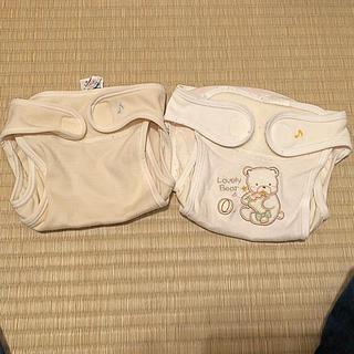 ニシキベビー(Nishiki Baby)のニシキ 布おむつカバー 50〜60サイズ 使用感有り(布おむつ)