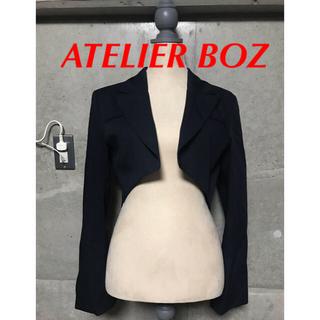 アトリエボズ(ATELIER BOZ)のATELIER BOZメンズゴシックファッション スカルドショートジャケット(ミリタリージャケット)