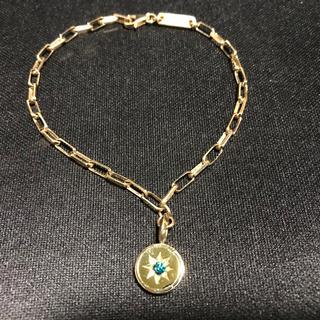 アイファニー(EYEFUNNY)のアイファニー EYEFUNNY  ブレスレット 18KYG×ブルーダイヤモンド(ブレスレット)