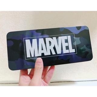 マーベル(MARVEL)のマーベル 缶ケース(ペンケース/筆箱)
