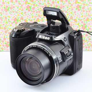 ✨Wifi & 可愛い本格レンズ付きカメラ✨ニコン COOLPIX L120(コンパクトデジタルカメラ)