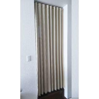 アコーディオンカーテン 150cm×205cm(レースカーテン)