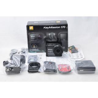 ニコン(Nikon)のJunkobo様 展示品☆Nikon ニコン KeyMission 170 元箱(ビデオカメラ)