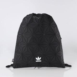 アディダス(adidas)の【新品・即納OK】adidas オリジナルス ナップサック ジムサック 3D 黒(バッグパック/リュック)