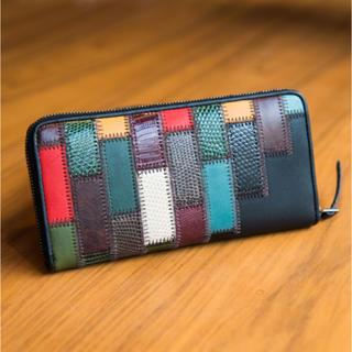 グラム(glamb)のGaudy zip wallet by JAM HOME MADE  (長財布)
