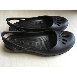 crocs  マリンディ 8W(24cm) 黒