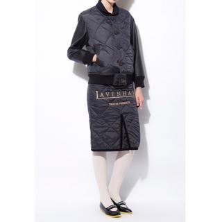 シアタープロダクツ(THEATRE PRODUCTS)の新品 シアタープロダクツ x ラベンハム キルティング スカート 刺繍(ひざ丈スカート)