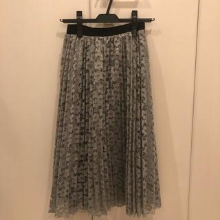 ダブルクローゼット(w closet)のメラーンジュ レーススカート(ロングスカート)