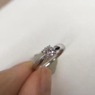 ティファニー(Tiffany & Co.)の最終値下 ティファニー 0.39ct H&C ハーモニー ダイヤ プラチナ 指輪(リング(指輪))