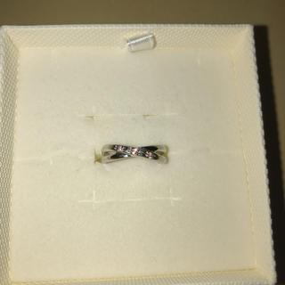 ジュエリーツツミ(JEWELRY TSUTSUMI)のK10WGピンクサファイアリング(リング(指輪))